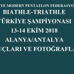 13-14 Ekim 2018 Alanya Türkiye Şampiyonası