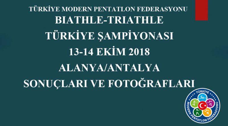 13-14 Ekim 2018 Alanya Türkiye Şampiyonası Sonuçları Ve Fotoğrafları